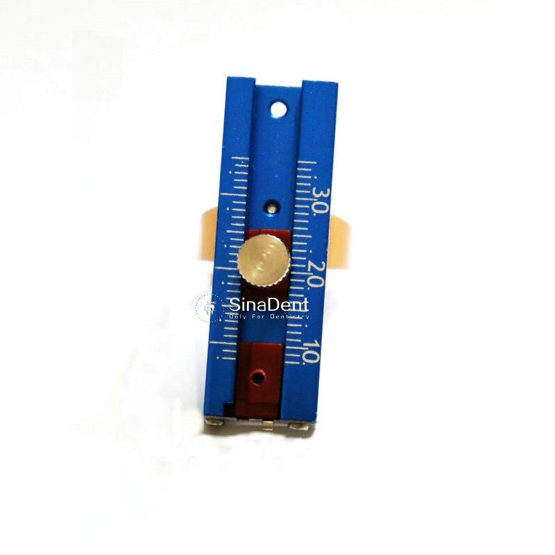 1 шт. стоматологическая эндо кольцо линейка для стоматолога инструмент для измерения зубного измерительные приборы автоклав раздвижные дв...