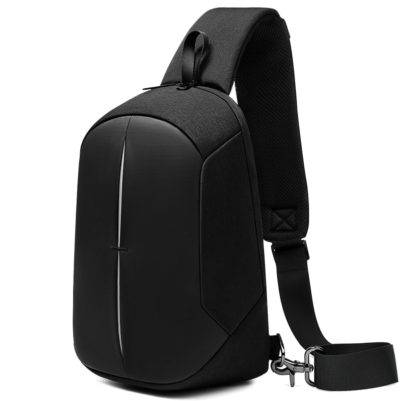 multifunction small backpack crossbody bag waterproof men chest bag 11 inch laptop ipad shoulder bag men s chest pack NEW Fashion Chest Pack Men 9.7 iPad Crossbody Bag Waterproof Multifunction USB Charging Short Trip Sports Shoulder Sling Bag