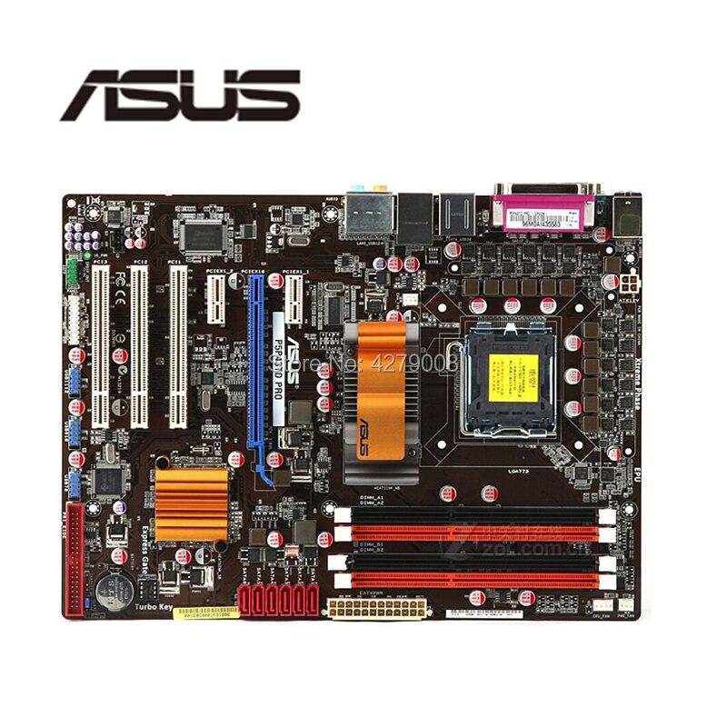 For ASUS P5P43TD PRO Desktop Motherboard P43 Socket  LGA 775 DDR3 Used Mainboard