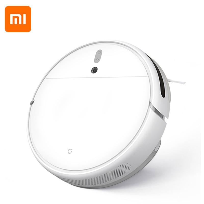 Xiaomi Mijia-مكنسة كهربائية روبوتية 1C أصلية ، كنس آلي ، تعقيم غبار مخطط ، Wifi