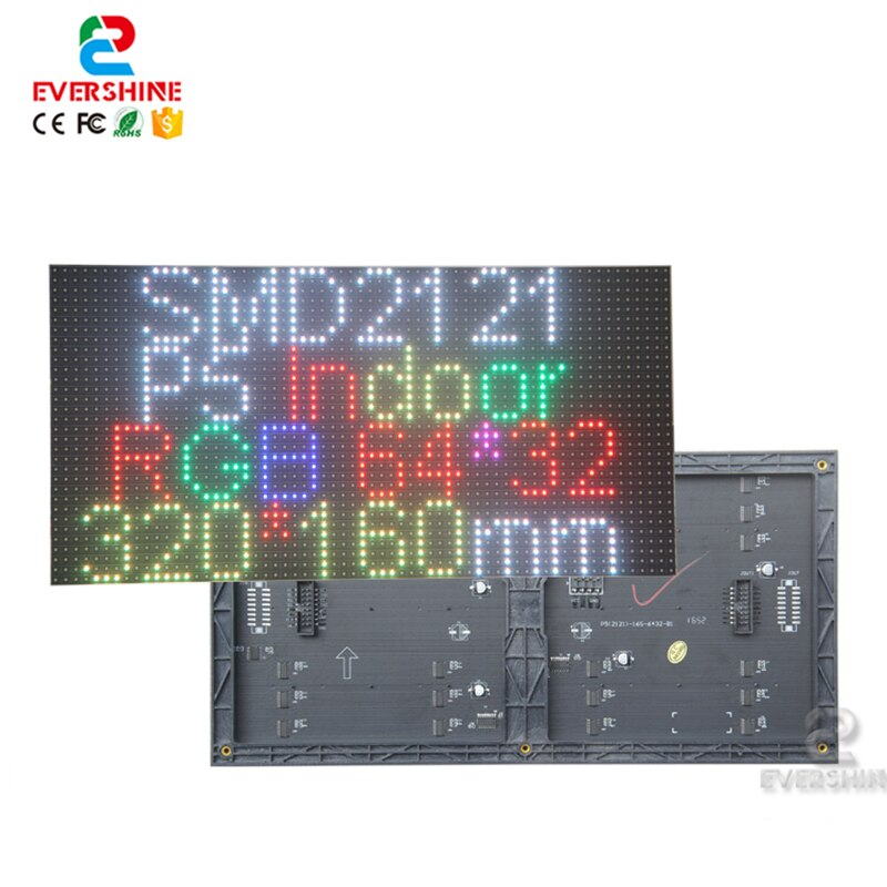 Günstigste Preis P5 Indoor Voll Farbe Smd2121 320x160mm 1/16s Led-modul