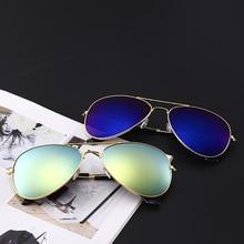 Aviation Brand Design Pilot Sunglasses Men and Women Polarized Mirror UV Fashion Classic Goggles For