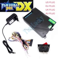 wholesale pandora box dx kit3000 in 1 pandora box 9d 300pcs arcade button25pcs copy sanwa joystick
