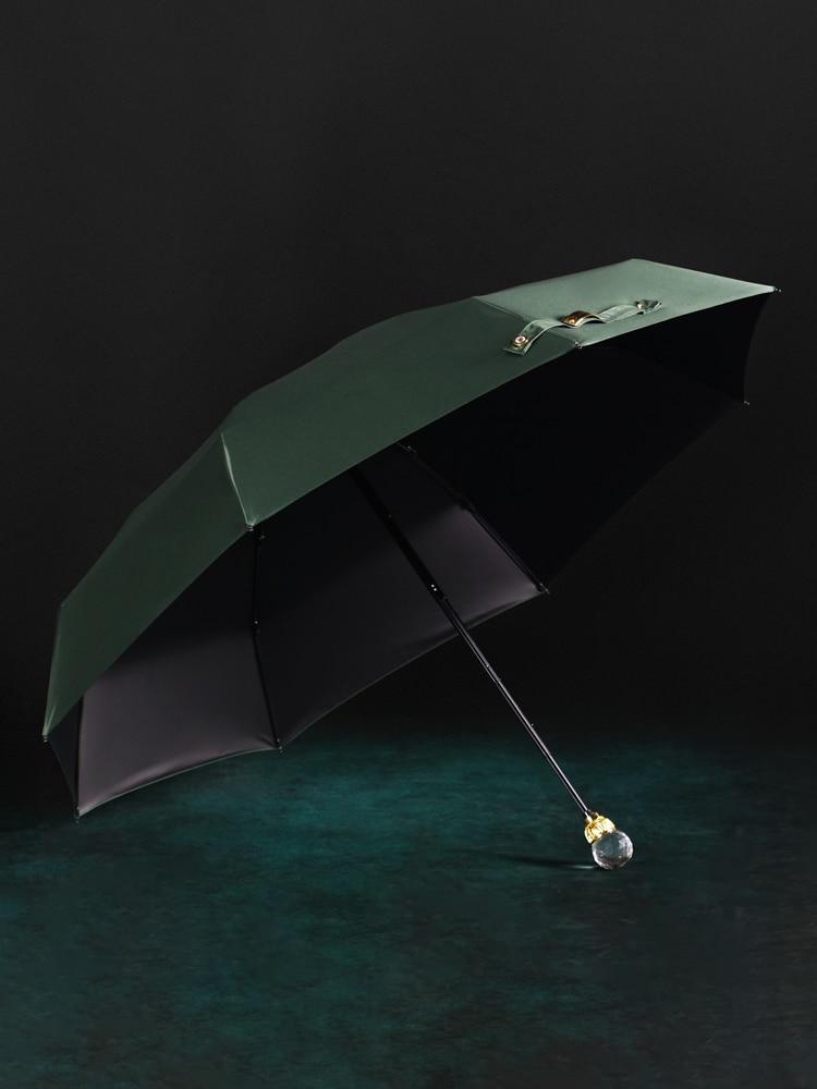 UV Protection Umbrellas Folding Travel Luxury Creative Portable Sun Rain Umbrellas Women Outdoor Guarda Chuva Rain Gear DF50YS enlarge