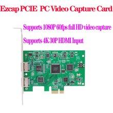 EZCAP 294 1080P HD PC Scheda di Acquisizione Video Supporta 4K di ingresso OBS Trasmissione In Diretta Webcast per Finestre Xbox PS4 Gioco gioco del Registratore