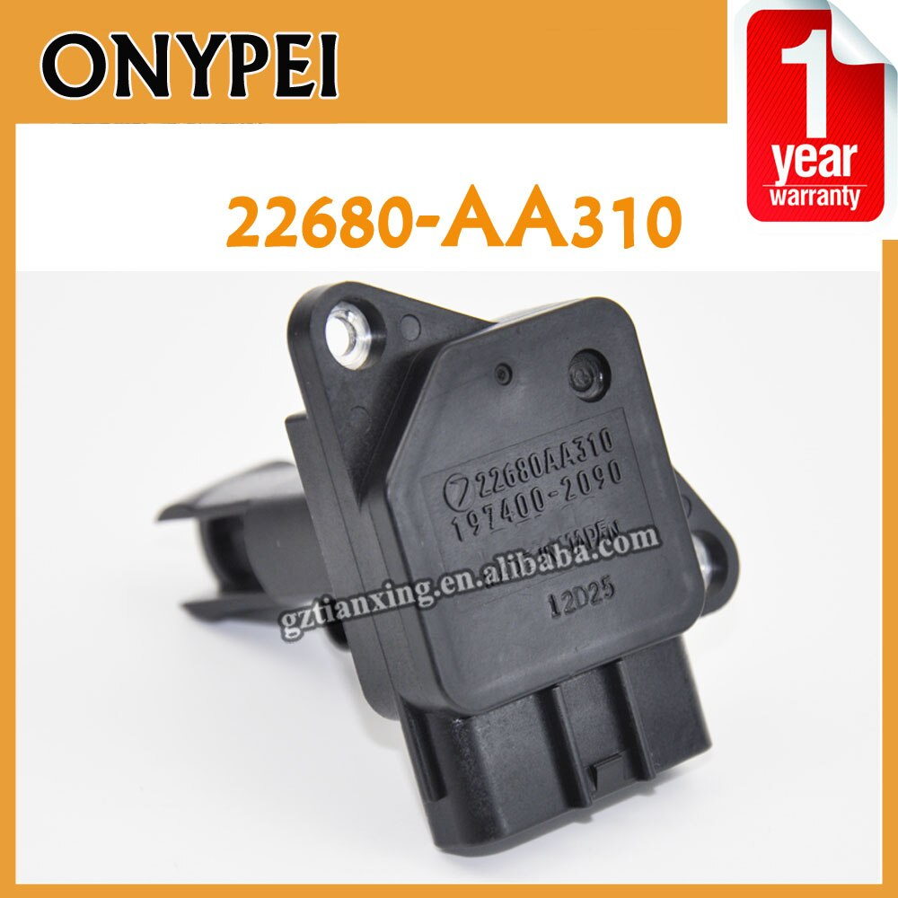 Sensor de flujo de aire masivo Original 22680-AA310 para Subaru Impreza Forester Baja 2.5L H4 22680 AA310 22680AA310