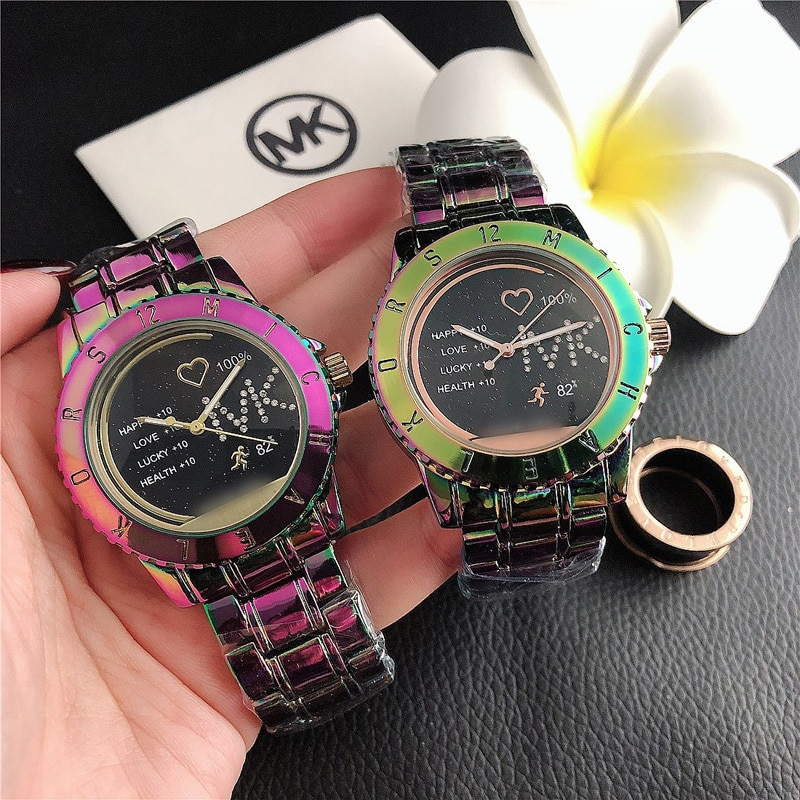 Ladies watches Diamond Steel Band Small Fresh Watch Fashion Starry Quartz Watch Simple Trend All-Match Women's And Men's Watches enlarge