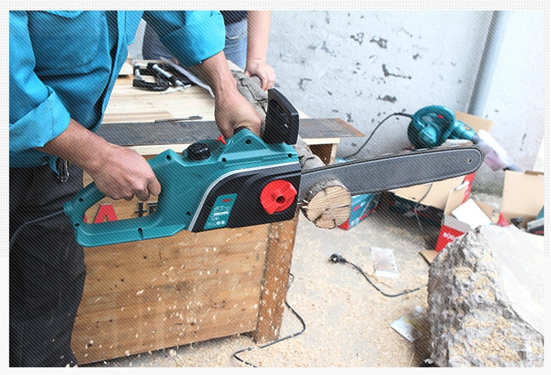 16 inch/20 inch Electric saw Household logging saw 220V Electric chain saw High power Woodworking chain saw Logging machine enlarge