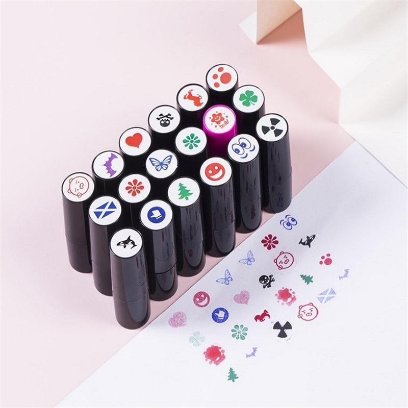 AliExpress - New Golf Ball Stamper Stamp Marker Impression Seal Quick-Dry Plastic Multicolors Golf Adis Accessories Symbol For Golfer Gift 00
