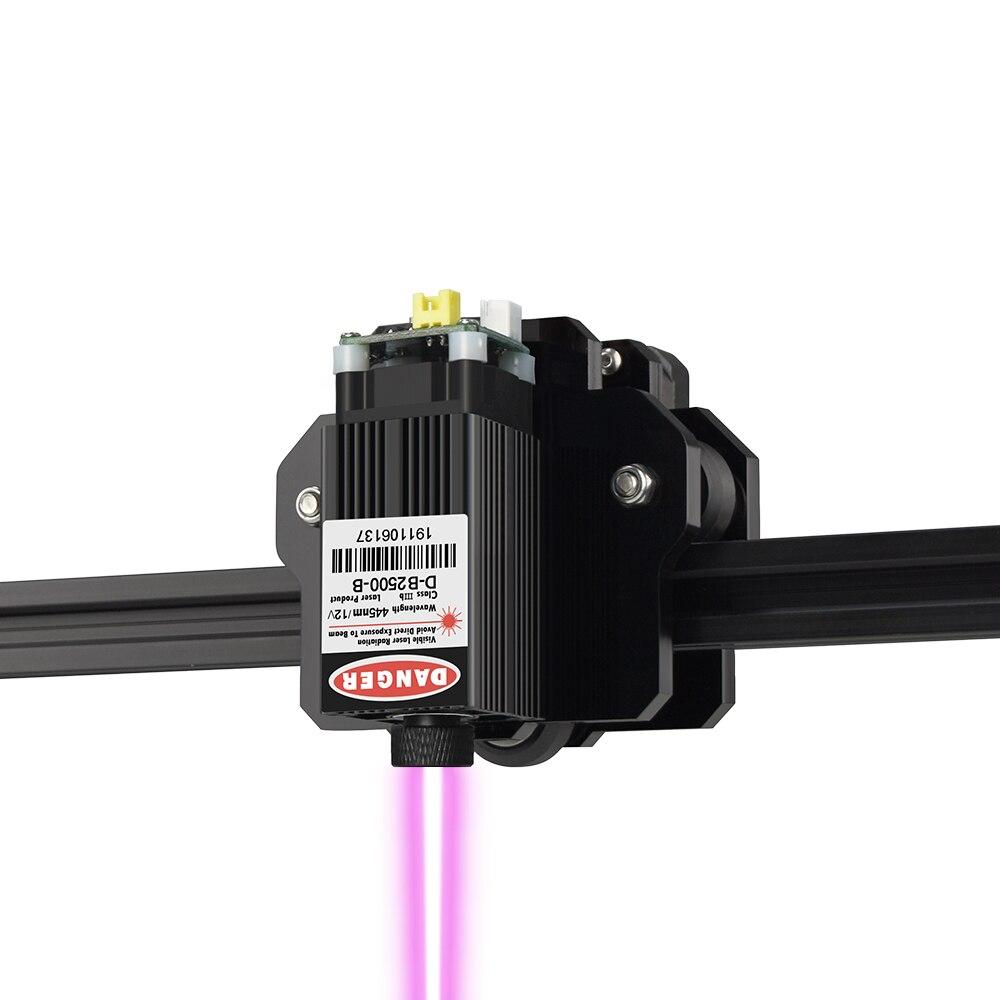 CNC lasergraveerimismasin 300x400mm suur ala 2,5 / 5,5W kiire - Puidutöötlemisseadmed - Foto 3