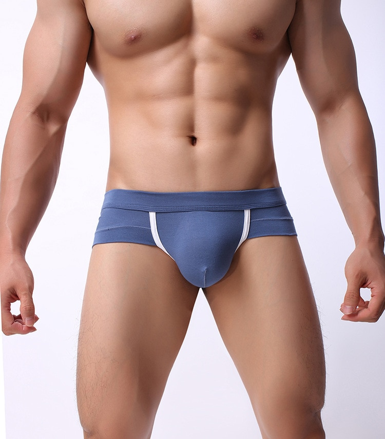 Calzoncillos de modal puro para hombre de ropa interior sexy bragas ¡venta al por mayor купальник белый трусы слоник