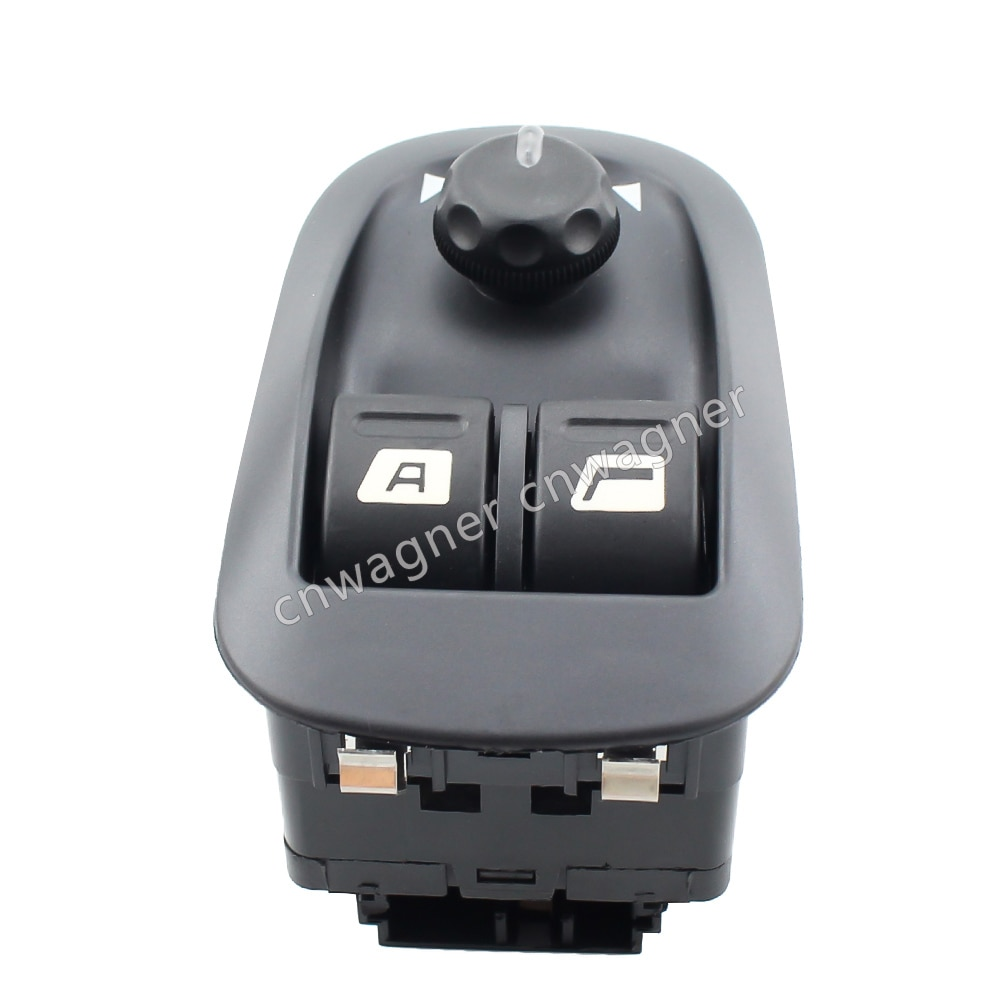 ¡CNWAGNER negro interruptor maestro de ventana eléctrico para Peugeot 206 Peugeot 206 CC 206SW 306 206 salón 2007-2016 6554.WA 6554WA!