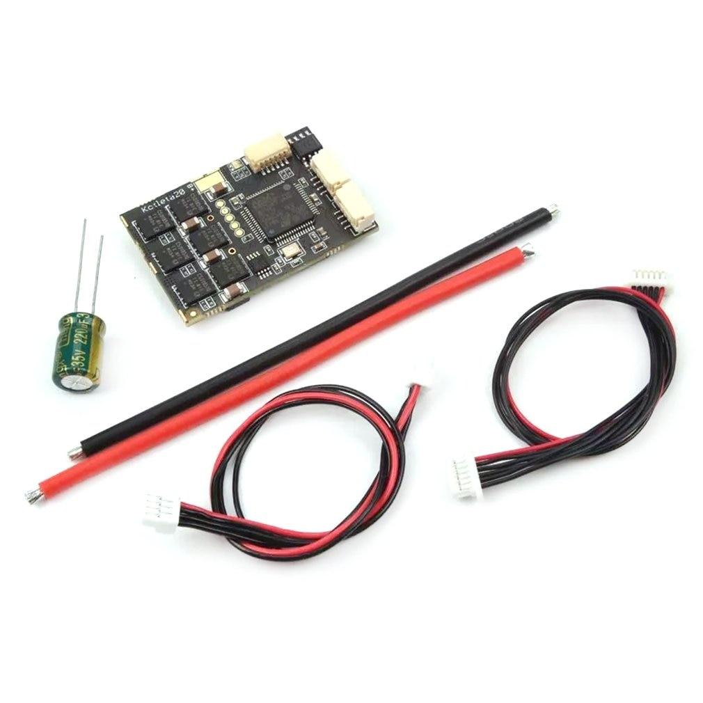 20 esc 500 w pode ônibus bldc motores controlador sensor para rc zangão luz veículos aéreos não tripulados 40.2x27mm