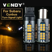 2x car canbus led turn signal light py21w bau15s p21w ba15s wy21w bulb lamp for subaru forester legacy outback impreza brz xv