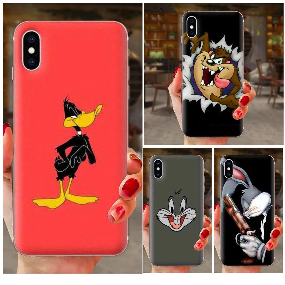 Bugs Bunny Looney Tunes Weiche TPU Neue Stil Für Sony Xperia Z Z1 Z2 Z3 Z4 Z5 kompakte Mini M2 m4 M5 T3 E3 E5 XA XA1 XZ Premium