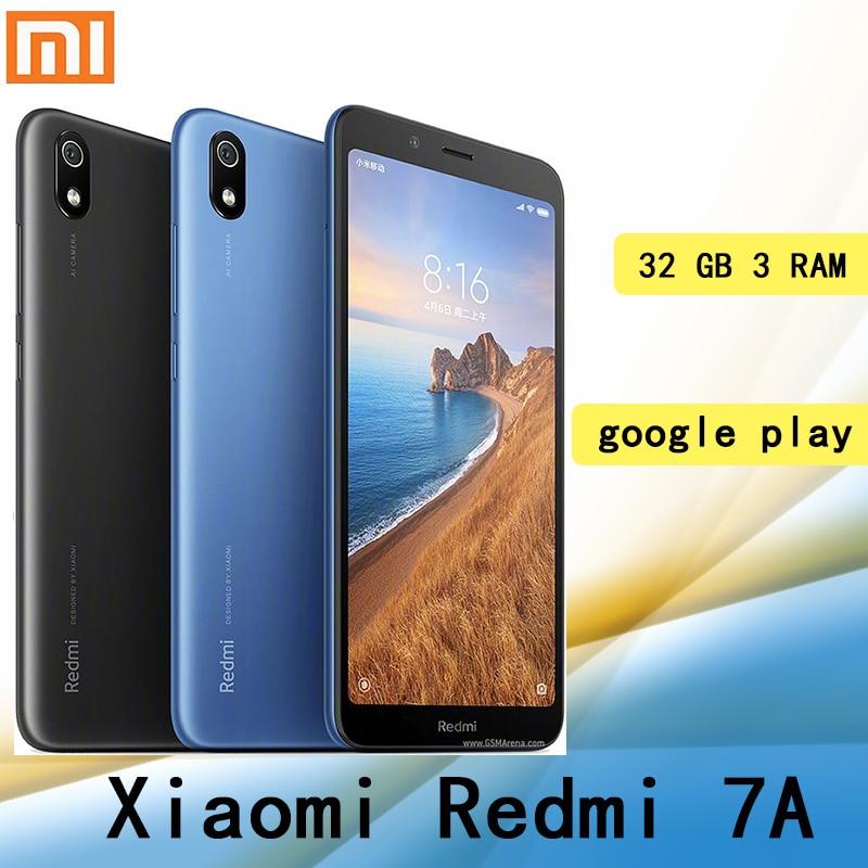 celular Xiaomi Redmi 7A smartphone with global framework Googleplay 3GB 32GB 4000mah battery Snapdragon 439 processor