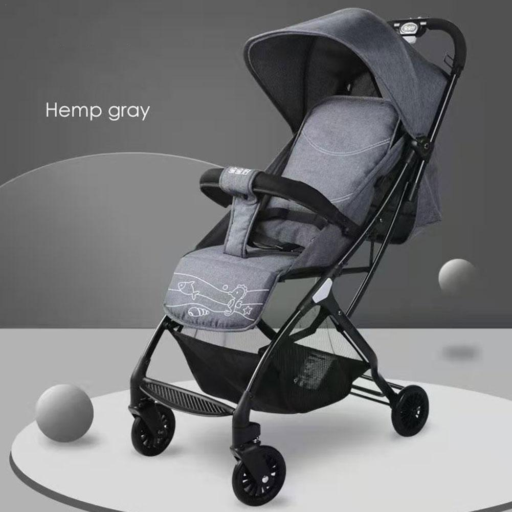 Baby Stroller Carriage Foldable Travel System Stroller Buggy Infant Pushchair Folding And Sitting Suit For New Born To Age 3