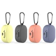 Funda de silicona para auriculares Redmi AirDots, auriculares inalámbricos con tecnología TWS y Bluetooth, funda protectora para auriculares