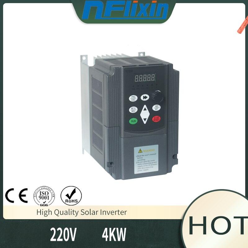 ¡Gran oferta! 4KW-7.5KW VFD 380v inversor de bomba Solar fotovoltaica de alto rendimiento de salida trifásica de CA