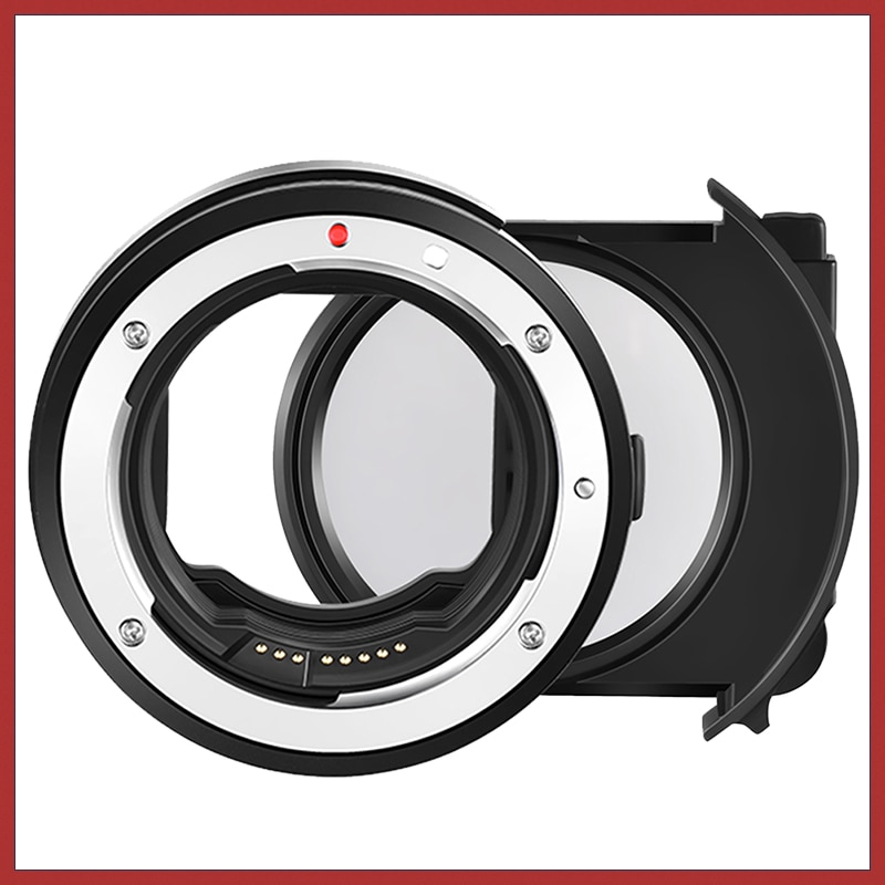 optolong new uhc filter eos camera built in full frame filter eos ff cuts light pollution astro EF-EOS R Auto Focus Drop-in Filter Mount Adapter Built-in Detachable CPL Filter for Canon EF/EF-S Lens to EOS R R5 R6 RP Camera