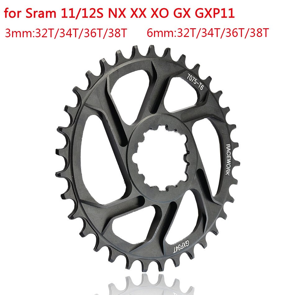 MTB GXP Bicycle ChainringNarrow Wide Mountain Bike Chainwheel30T32T 34T 36T 38T For SRAM GXP XX1 X9 XO X01 gx Eagle NX Crankset