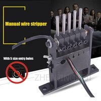 scrapped cable porous peeler wire stripping machine manual peeler precision portable efficient no noise manual peeling machine