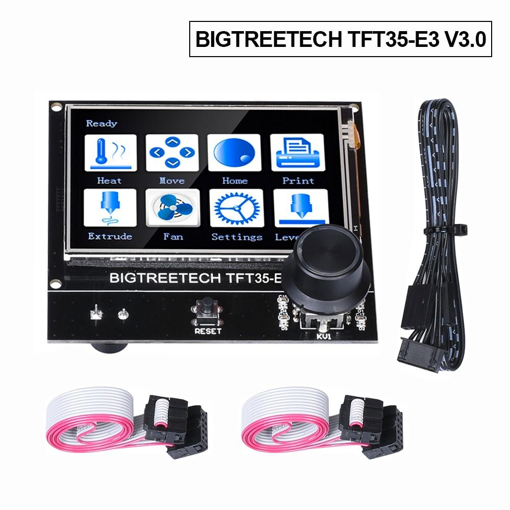 BIGTREETECH TFT35 E3 V3.0 сенсорный экран совместимый 12864LCD дисплей Wifi TFT35 части 3D принтера для Ender3 CR-10 SKR V1.3 MINI E3