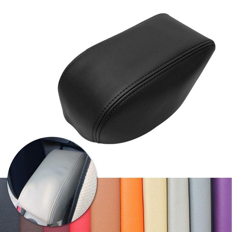 Para Hyundai Tucson 2006, 2007, 2008, 2009, 2010, 2011, 2012, 2013, Interior del coche caja para apoyabrazos central de cuero de microfibra protectores de decoración
