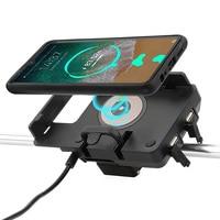 Для BMW R1200GS R1250GS F700GS F800GS F750GS F850GS мотоциклетная Беспроводная зарядка для мобильного телефона GPS Навигация держатель мобильного телефона
