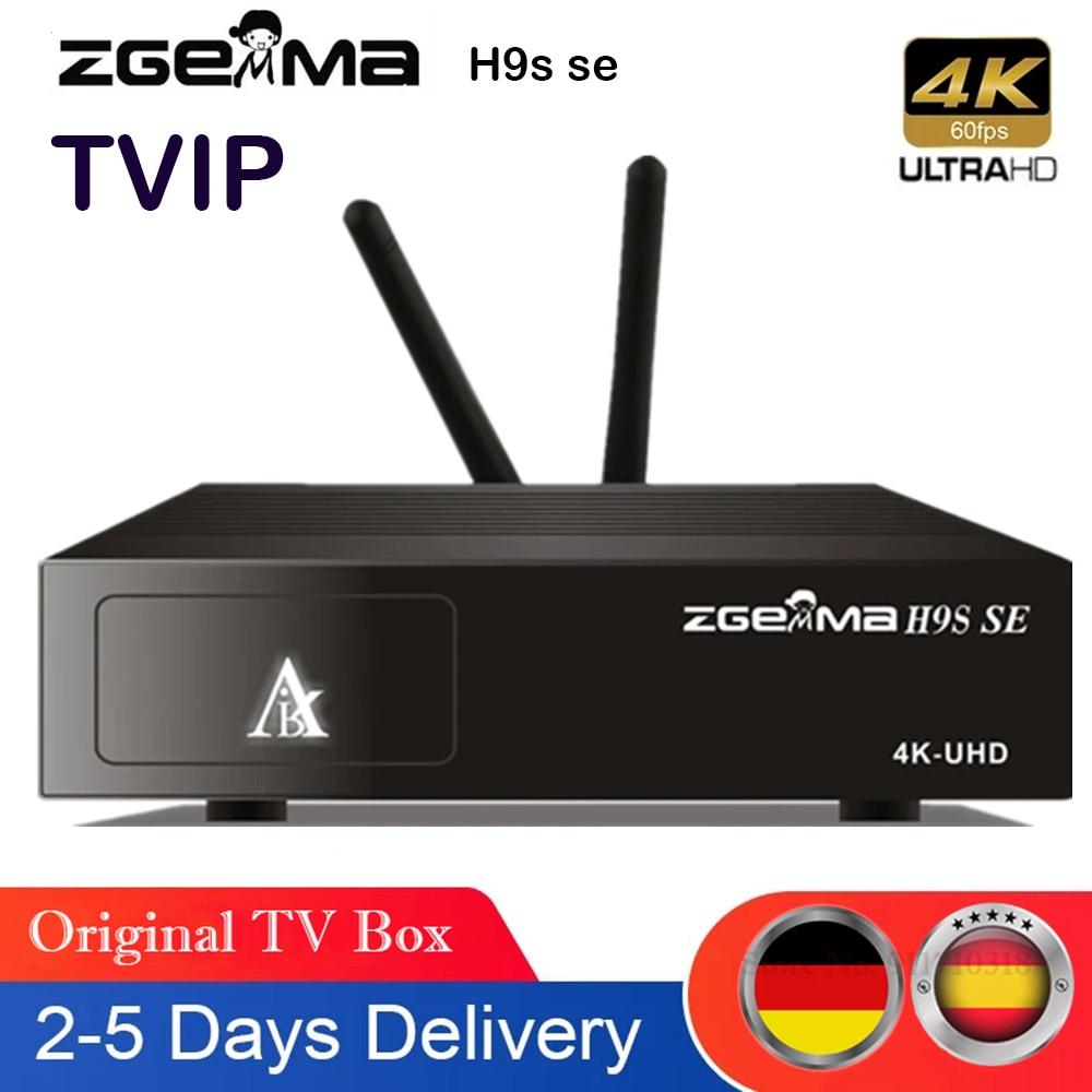 zgemma h9s ذاتها 4K HD التلفزيون الرقمي الأقمار الصناعية deocder h.265 / hevc DVB-S2 / S2X متعدد تيار المدمج في واي فاي ترقية h9s استقبال الأقمار الصناعية