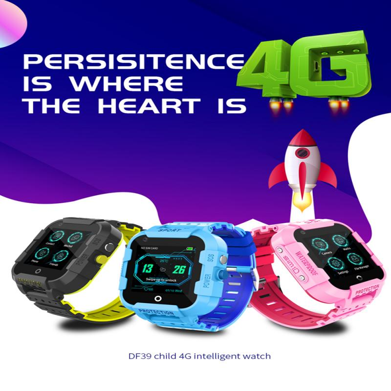 Get Children Smart Watch 4G Video Call Watch Ip69 Life Waterproof Smart AI Positioning Student Telephone Smartwatch For IOS Android
