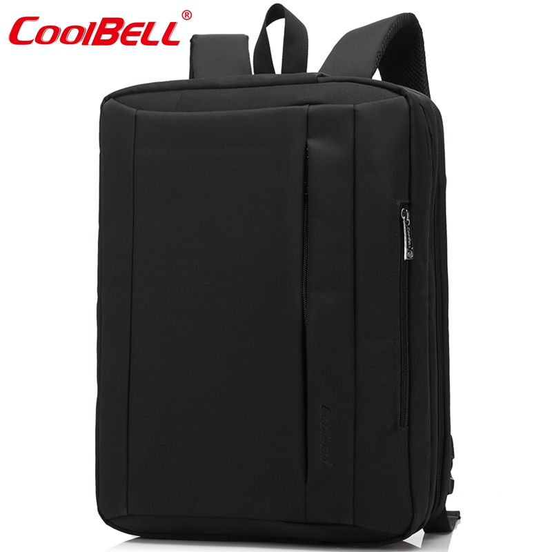 Cool Bell mochila impermeable para computadora portátil 15,6, 17,3 pulgadas mochila portátil multiusos bolso de hombro para hombres y mujeres bolsa de ordenador