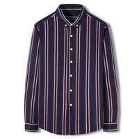 new shirt business casual spring summer long sleeve stripe men shirts high quality brand shirt men chemise homme