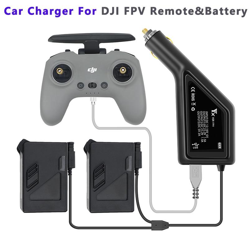 dual-de-la-bateria-inteligente-del-cargador-del-coche-para-dji-fpv-con-puerto-usb-dji-fpv-controlador-remoto-2-coche-rapido-de-carga-drone-accesorios
