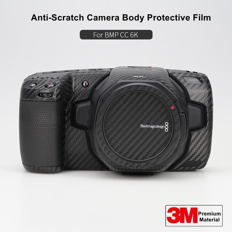 BMPCC 6K غطاء حماية الجلد ل Blackmagic تصميم جيب سينما كاميرا 6K الجلد ملصق مائي حامي المضادة للخدش معطف التفاف