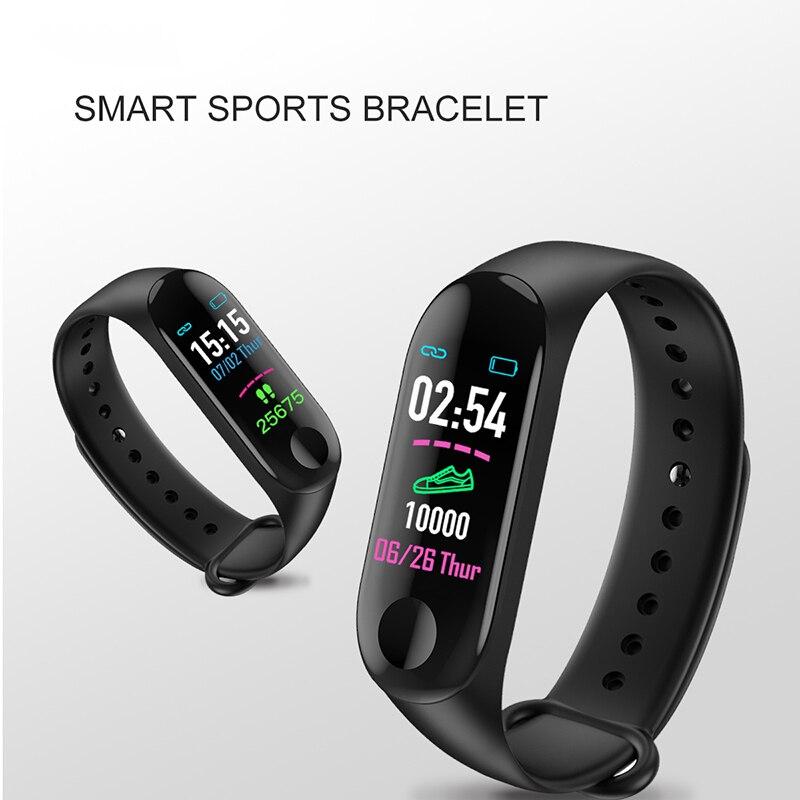 Reloj inteligente Ip65 para Android e Ios, reloj inteligente deportivo con control del ritmo cardíaco y de la presión sanguínea, contador de pasos y resistente al agua