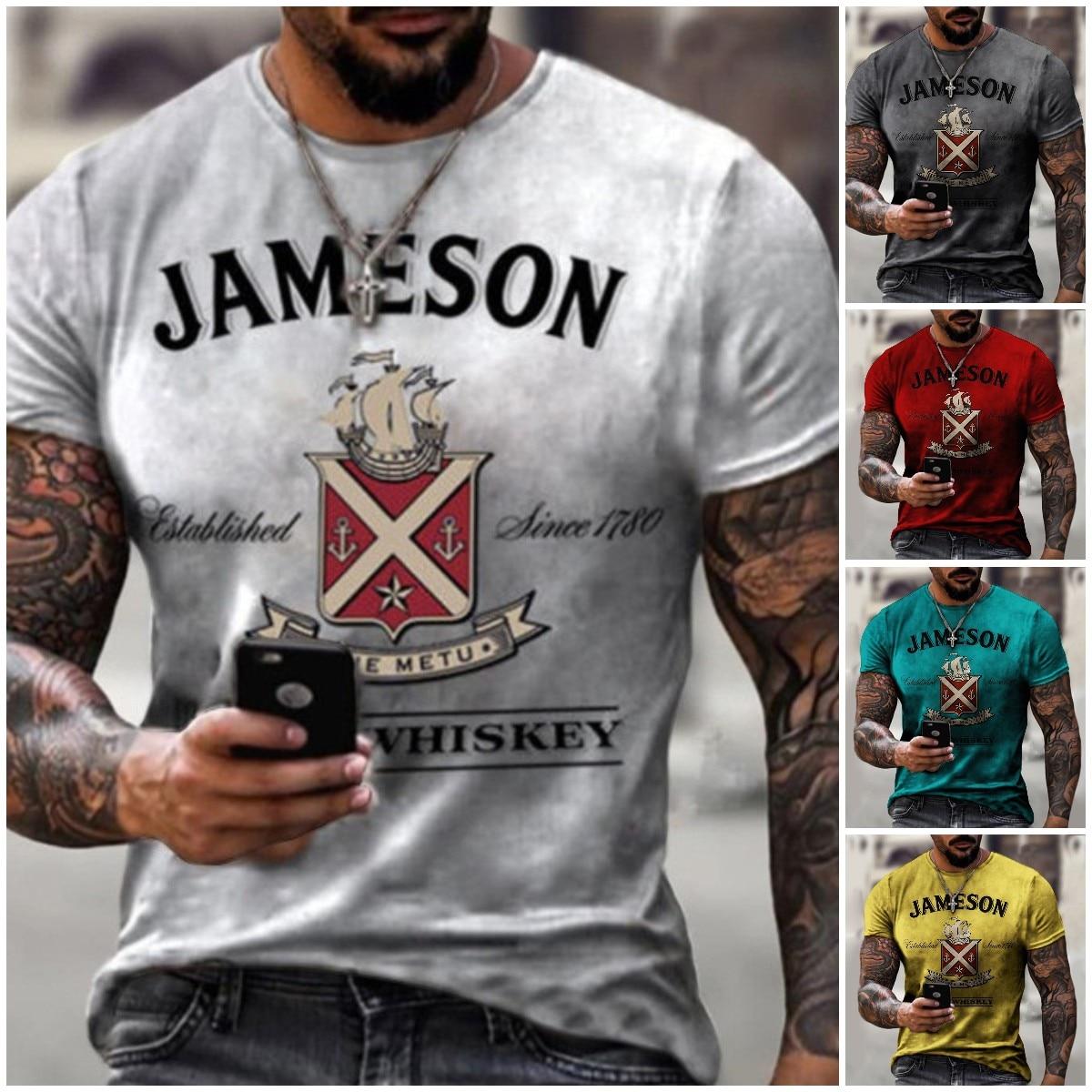 2021 европейские и американские мужские модные футболки, новые мужские футболки с принтом