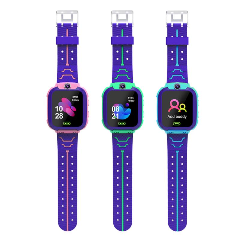 Q12 Smart Phone Watch Positioning SOS Call Kids Children Safe GPS GSM 1.44 Inch Anti-Lost Tracker Camera Voice Chat