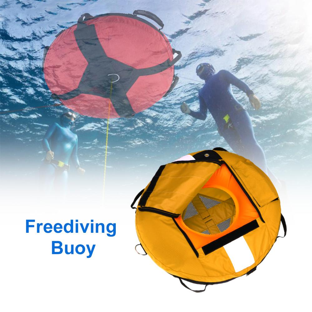 عالية الرؤية Freediving سلامة العوامة نفخ التدريب تعويم لرياضة الغوص Spearfishing الغوص الغوص السلامة تعويم
