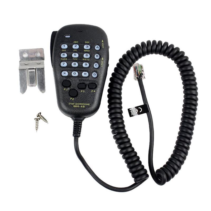 DTMF Speaker For YAESU MH-48 MH-48A6J DTMF Speaker Microphone for FT-8800R FT-8900R FT-7900R FT-1807 FT-7800R FT-2900R FT-1900R
