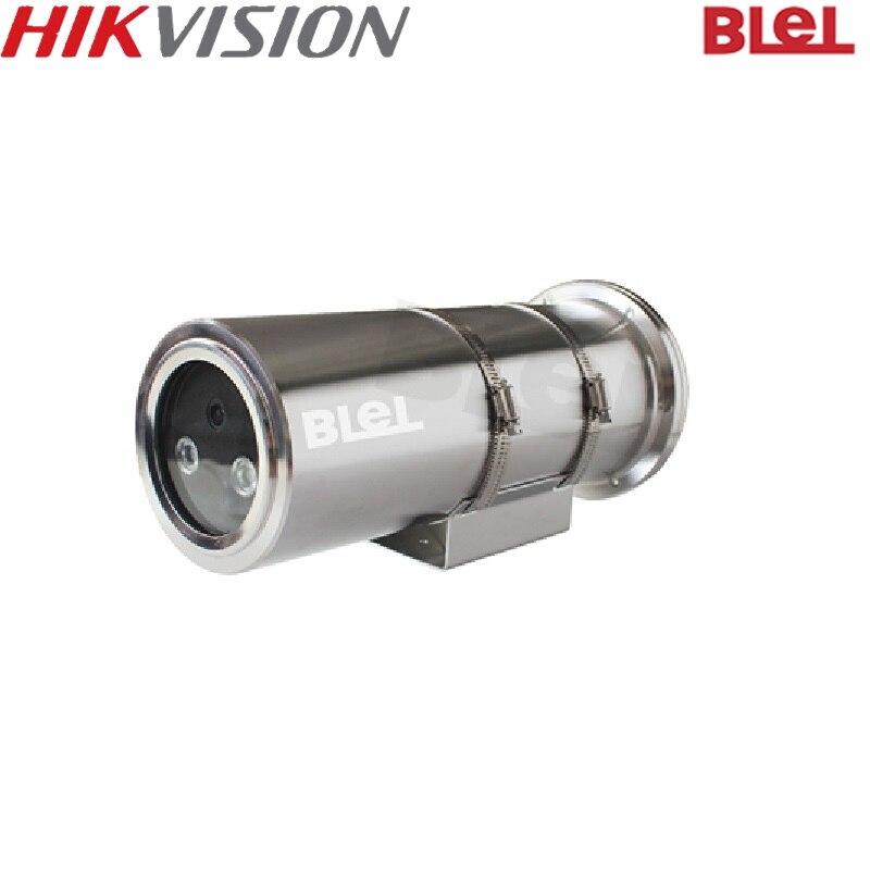 HIKVISION versión internacional 2MP a prueba de explosión IR Bullet cámara IP H.265 impermeable IP68 IR 50M hik-connect App al por mayor