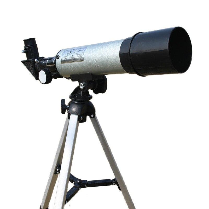 Высококачественный зум HD наружный монокулярный космический астрономический телескоп с портативным штативом Зрительная труба 360/50 мм телес...