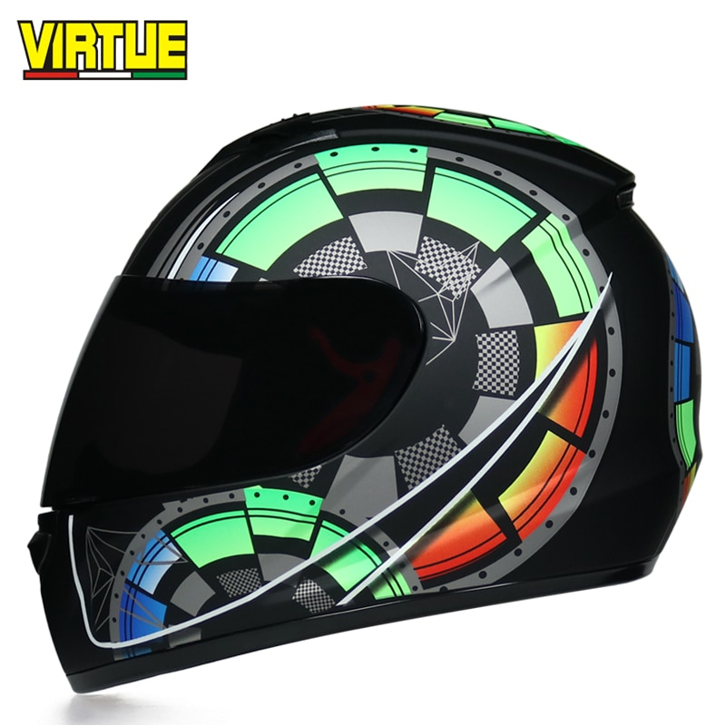 Модульный шлем для мужских мотоциклов, мотоциклетных шлемов, гоночных шлемов