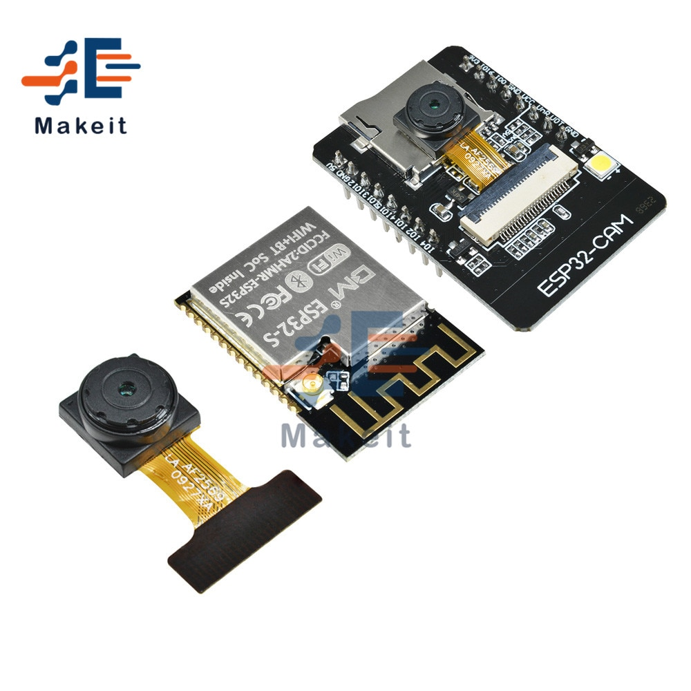 ESP32-CAM-MB WiFi Bluetooth Development Board OV2640 2MP Camera Module ESP32-CAM WIFI Module with IPX interface for Arduino недорого