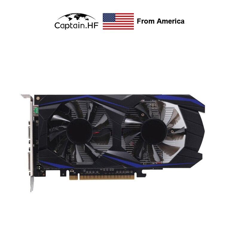 Geforce GTX 1050 Ti 4GB GDDR5 128 Bit PCI-E Graphic Card Desktop Computer for Professional Gamers