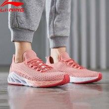 Li-ning femmes LN ARC coussin chaussures de course respirant doublure légère Li Ning chaussures de Sport portables baskets ARHP006