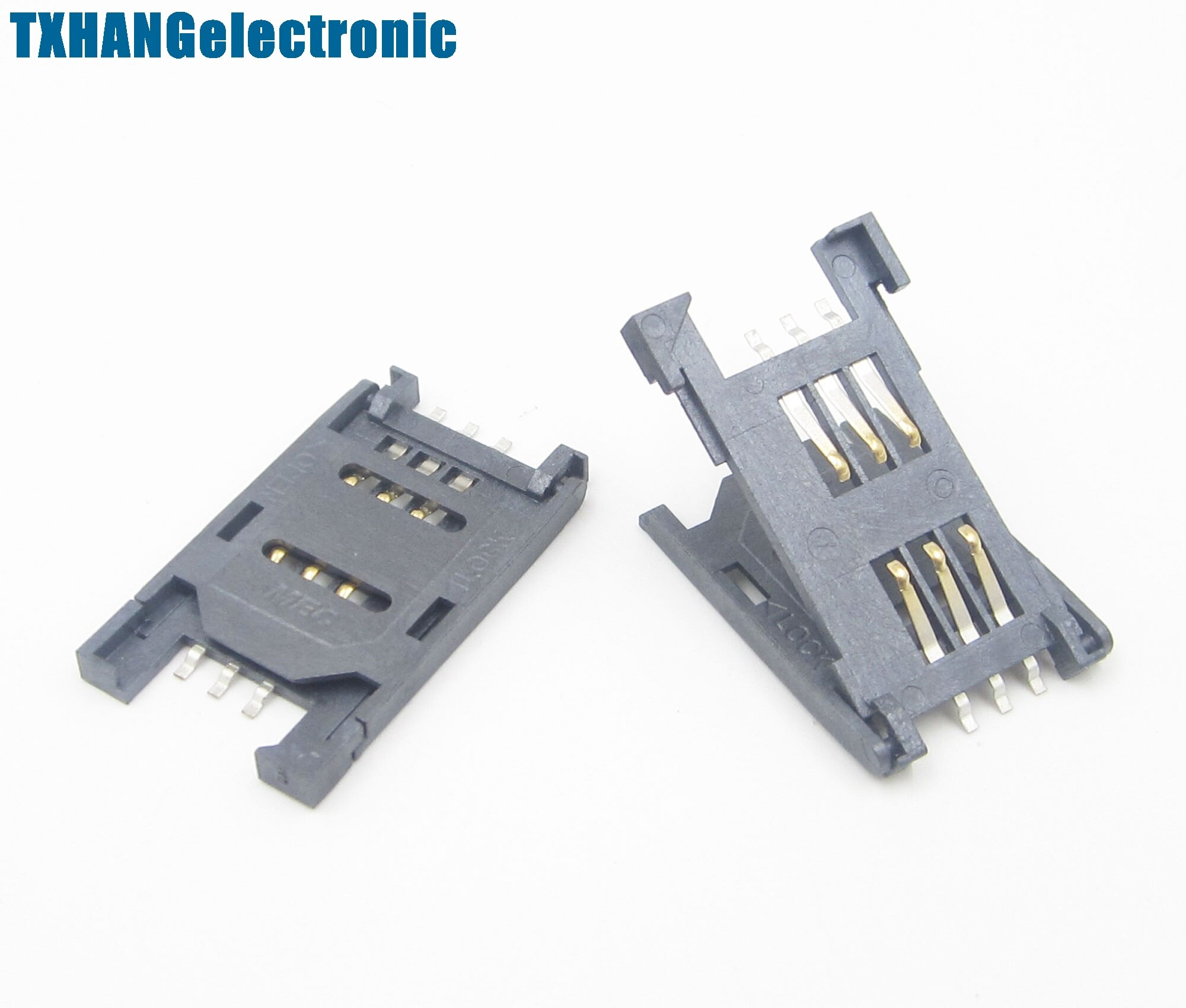 Módulo inalámbrico de 5 piezas con ranura para tarjeta SIM SIM900 GSM/GPRS