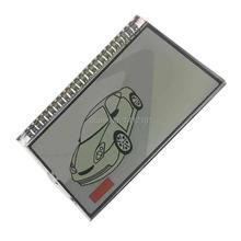 Porte-clés système dalarme LCD M5   Affichage lcd pour voiture russe 2 voies, porte-clés Scher-Khan Magicar 5 6 LCD télécommande porte-clés chaîne Scher Khan M5