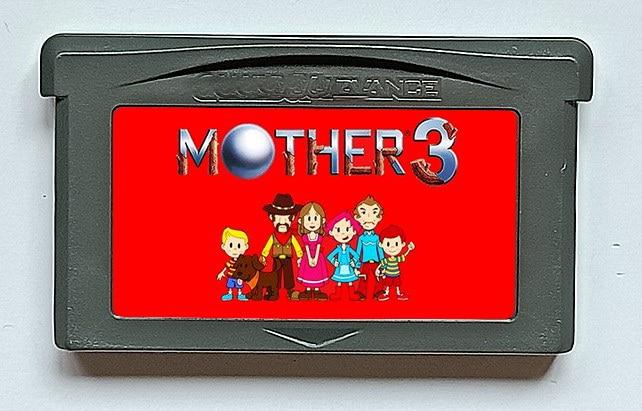 Tarjeta de juego de 32 bits MOTHER 3 (¡Versión francesa de EUR! ¡Idiomas en francés!)