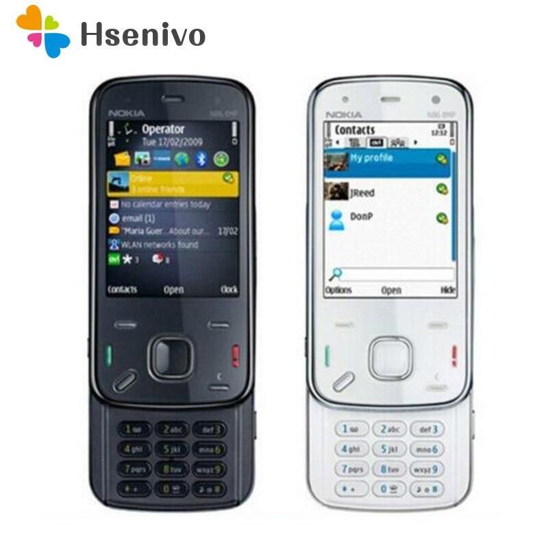 Nokia N86 refurbished-Original Nokia N86 original unlocked GSM 3G WIFI GPS 8MP Mobile phone Black&Wh
